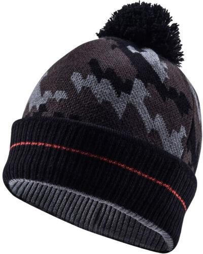 Camo Colour Sealskinz Waterproof Bobble Hat Black//Tarmac T2609 NEW - L//XL