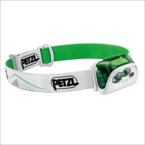 PETZL ACTIK GREEN E099FA02-350 LUMEN HEADLAMP OUTDOOR COMPACT HEAD TORCHE