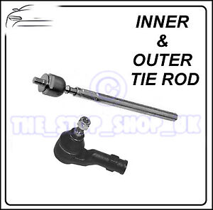 Ford C-Max Volvo C30 S40 C70 RIGHT Inner /& Outer Tie Rod End Steering Track Rod