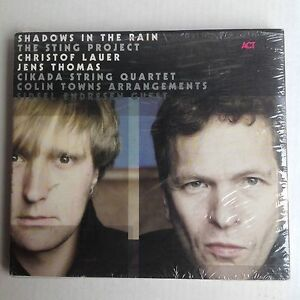 CD Christof Lauer, Jens Thomas – Shadows In The     2001   Jazz SEALED!