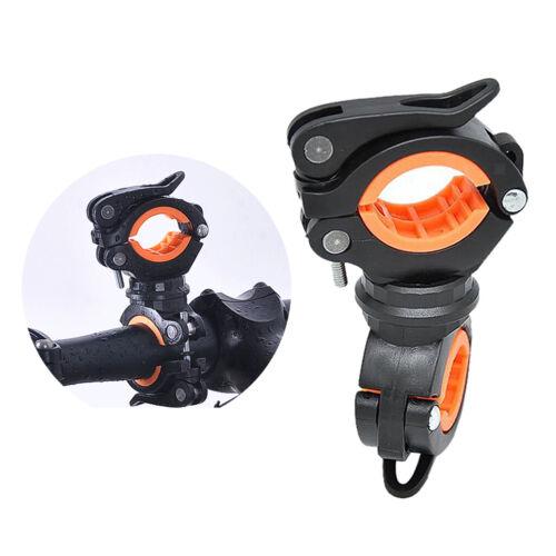 Fahrrad Taschenlampe Clip Lampenhalterung Feste Halterung 360 °-Drehung
