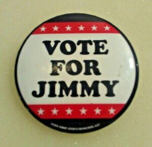 VOTE-FOR-JIMMY-Jimmy-John-039-s-Franchise-2008-Humorous-Campaign-Pin-Back-Button