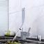 Waterfall Unique Spout Deck Mounted Bathroom Basin Vessel Sink Mixer Faucet Taps