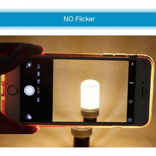 1//4x LED Leuchtmittel Mais Licht GU10 E14 E27 10W Maisbirnen Aluminium SMD5736