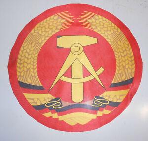 GDR-Emblem-Fahnenemblem-Tablecloth-Table-Vintage-34-CM-GDR-Tablecloth