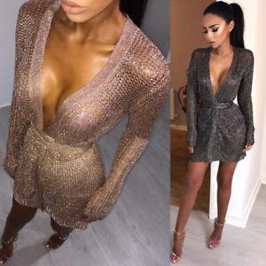 Womens-Long-Sleeve-Jumper-Tops-Ladies-Slim-Knitted-Sweater-Mini-Dress-Fashion