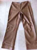 Anthea Crawford - Leather Pants (lamb) Size M Colour Camel.