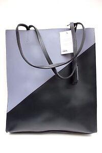 shopping con mano Borsa di Black Block pelle a tote bag per tracolla in a grande Asos Premium FqXXn4r0