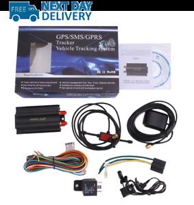 Rastreador Gps Coche con protección contra el robo de vehículos y GPRS Sistema de Alarma TK103A