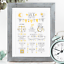 Personalised-Birth-Print-for-Baby-Boy-Girl-New-Baby-Gift-or-Christening-Present thumbnail 134