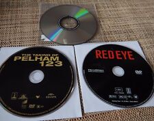 4 DVD Lot : Red Eye 2005 - Taking of Pelham 123 - Passenger 57 - Boiling Point