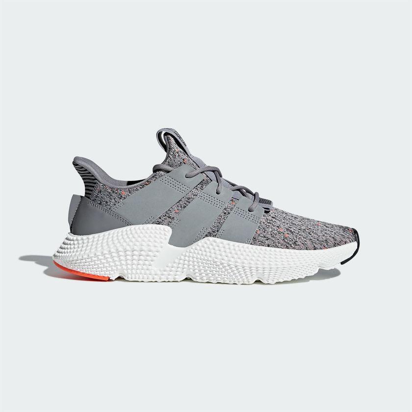 Mens Adidas Prophere Grey Running White Infrared CQ3023