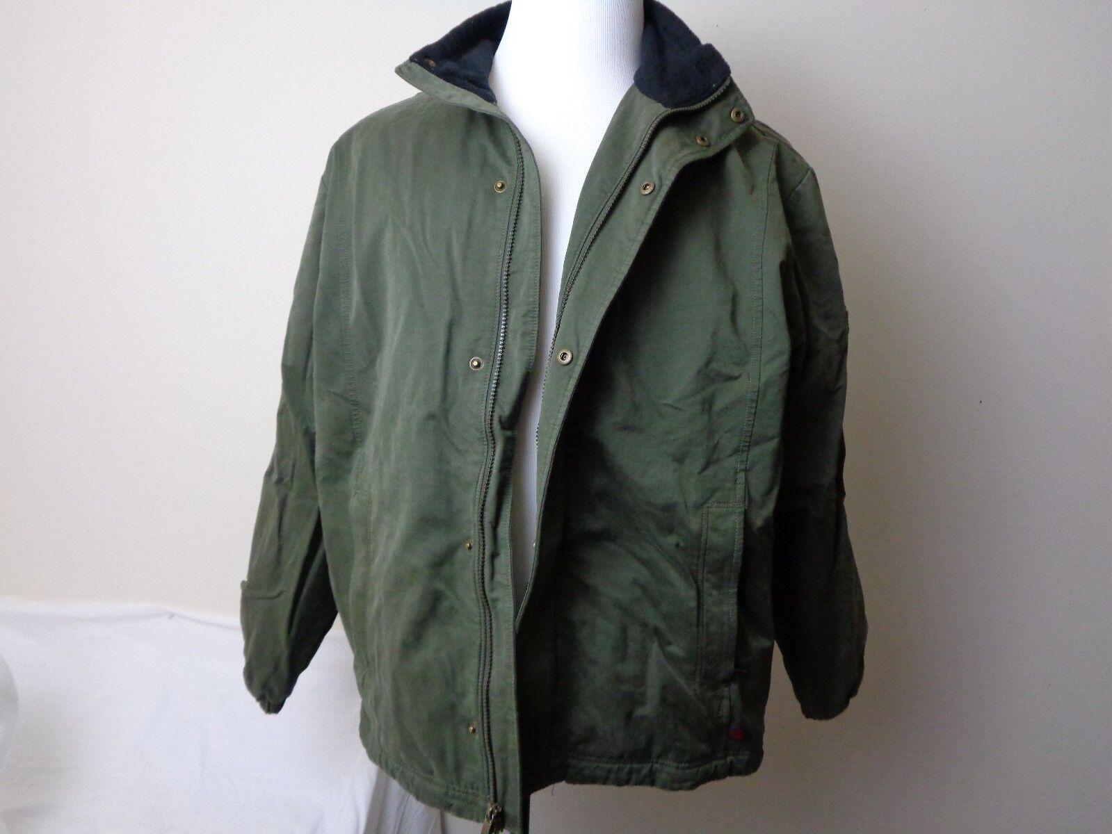 Vintage Woolrich Green Winter Férfi kabátméret nagy