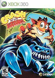 Crash-of-the-Titans-Xbox-360-Kids-Game-Crash-Bandicoot-Rare-Collectible-Complete