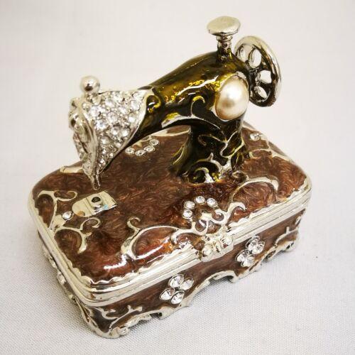 Mini Sewing Machines Trinket Box with Gift Box