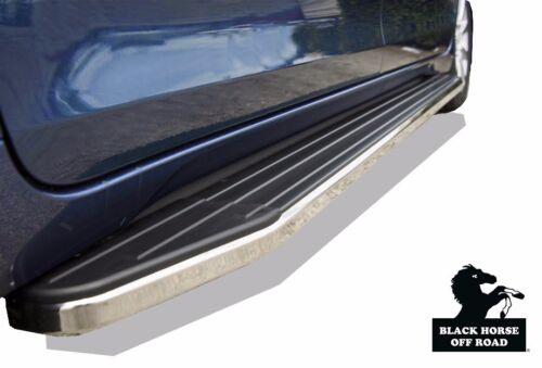 Black Horse 2011 2017 Toyota Sienna Running Boards Side steps Nerf Bars   SET