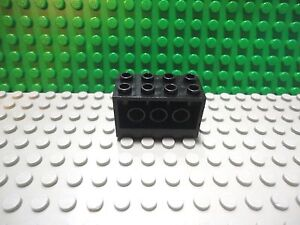 holes Bricks ~  Lego ~ NEW ~ Castle Dark Gray 1x4 Technic w// 3 8