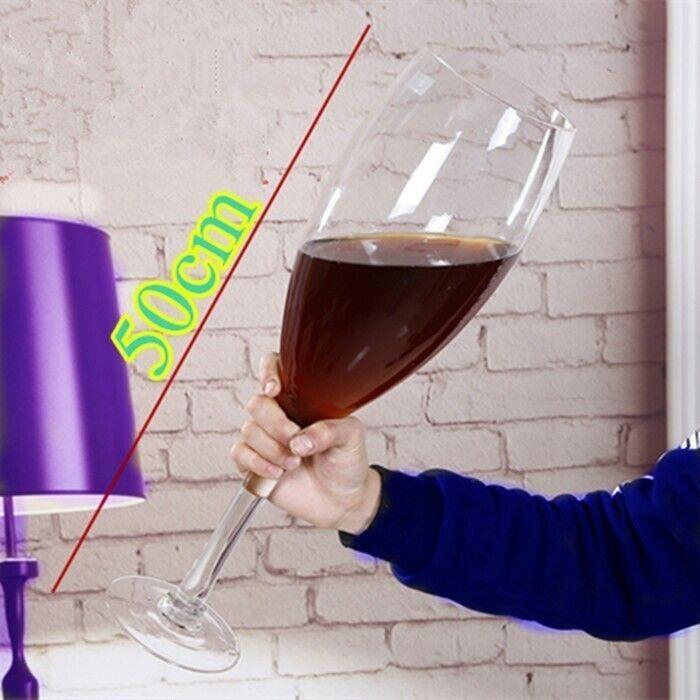 Big Huge quien Vino Cerveza De Vidrio. Ideal para fiestas, regalos, gag.
