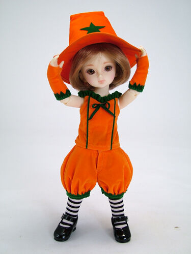 * WOW RARE VOLKS YO-SD 1//6 BJD CHIBI HALLOWEEN PUMPKIN COSTUME SET NIP *