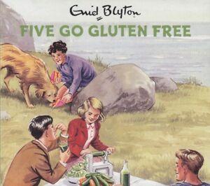 Famous-Five-Go-Gluten-Free-Enid-Blyton-2CD-Audio-Book-NEW-Grown-Ups-Spoof