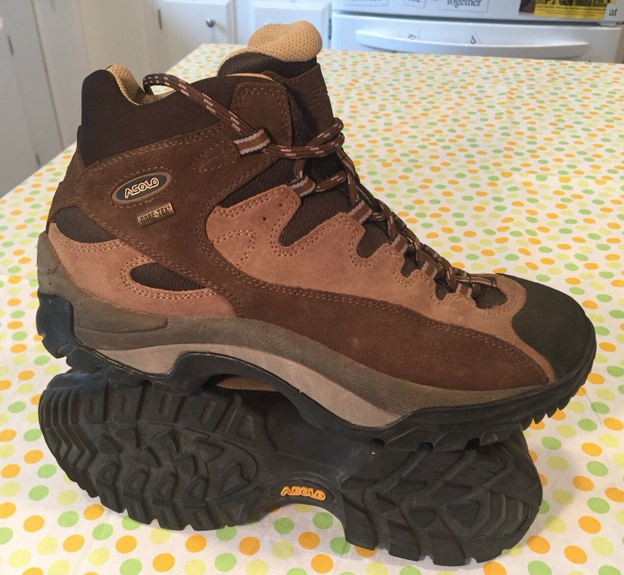 Asolo Skyland GTX Women's Size 9 Lace Up Mid Hiking Boots Goretex VGC