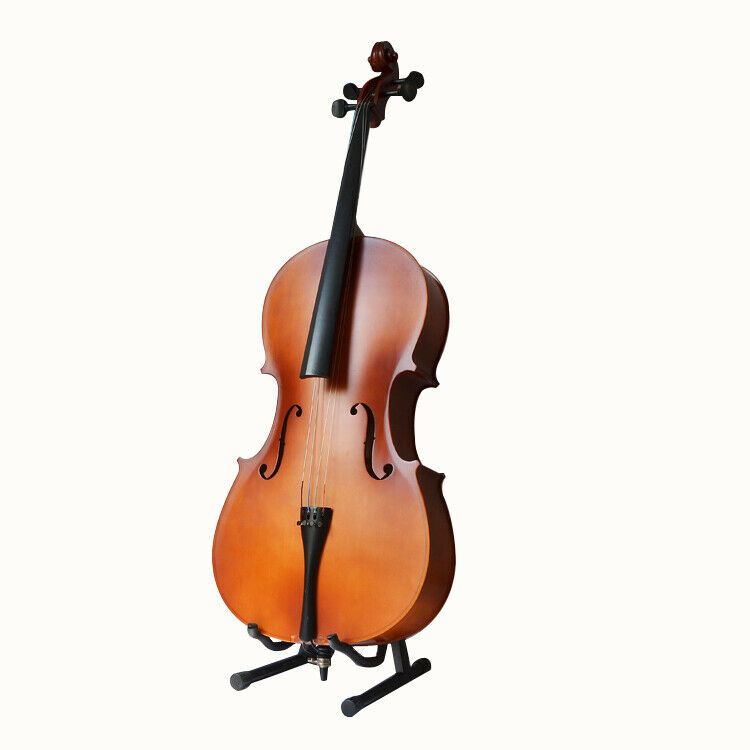 D15 Premium Wooden Cello Suit Outfit With Bag Bow and Rosin Full Size 1 2 Y