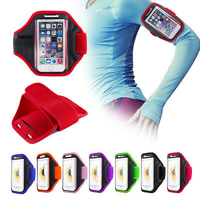 UnabhäNgig For Apple Gym Running Jogging Sports Armband Holder Various Iphone Mobile Phones