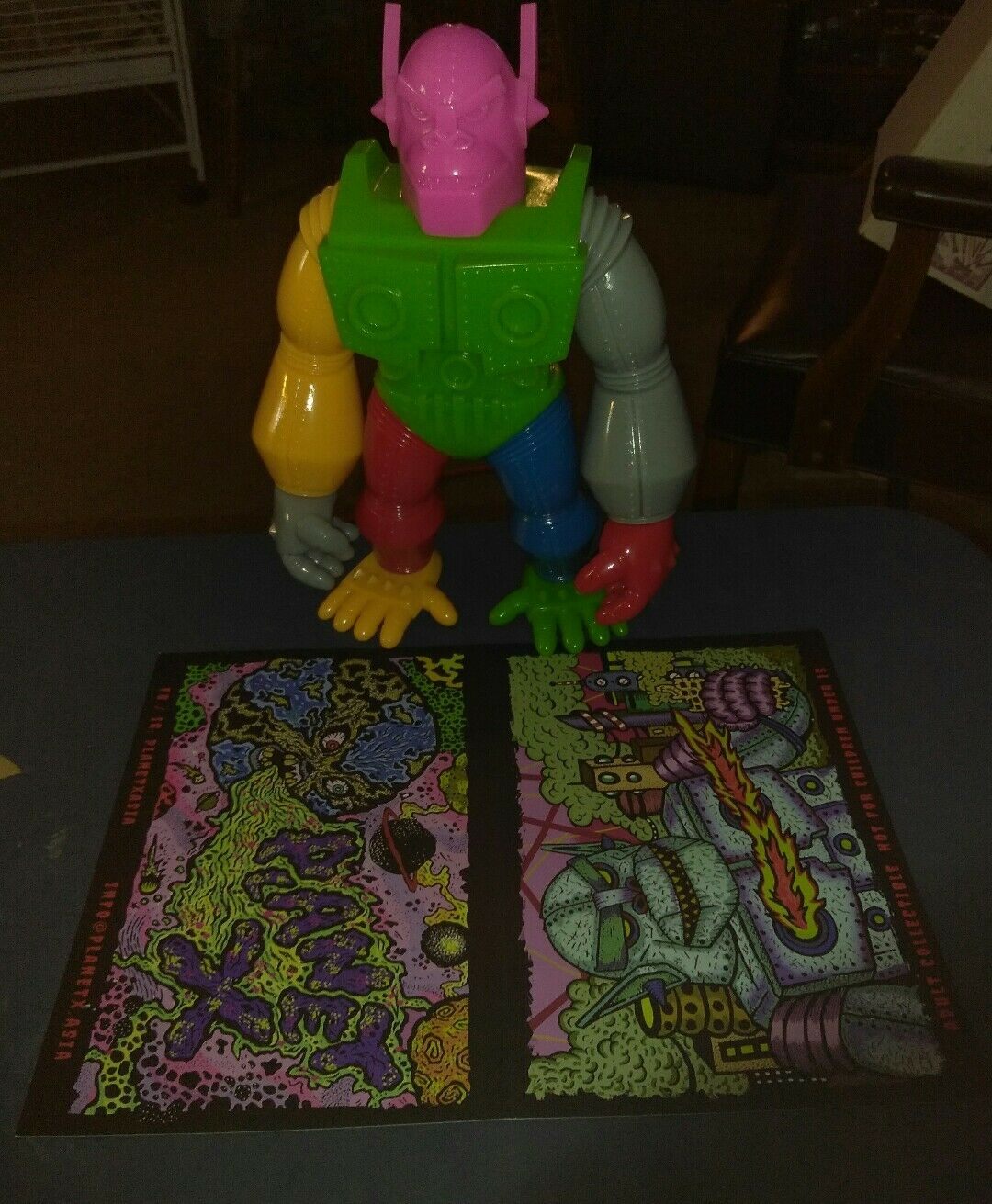 Planet x Goliathon mixed parts lotto lotto lotto only exclusive sofubi full size 4d76c6
