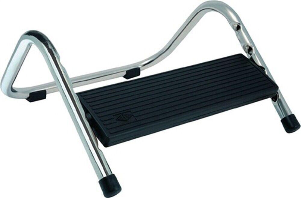 Fußstütze schwarz L.335mm Stahlrohr höhenverstellbar | Shop Düsseldorf  | Qualifizierte Herstellung  | Einfach zu spielen, freies Leben