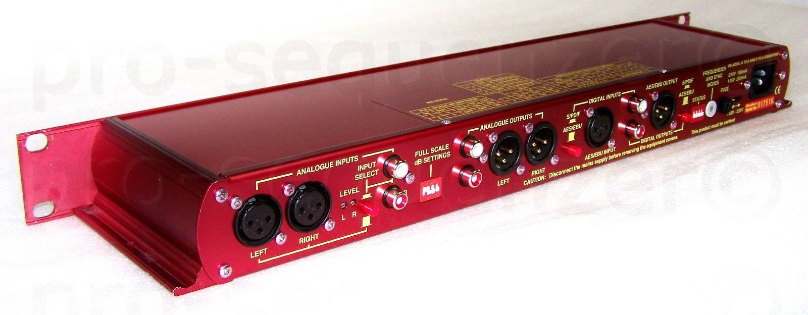 Sonifex rotbox RB-ADDA High-End Wandler ConGrüner AES EBU S PDIF + Garantie