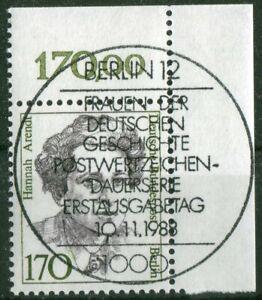 Berlin-826-Eckrand-gestempelt-Vollstempel-ESST-Berlin-12-Ecke-2-Frauen-170-Pf