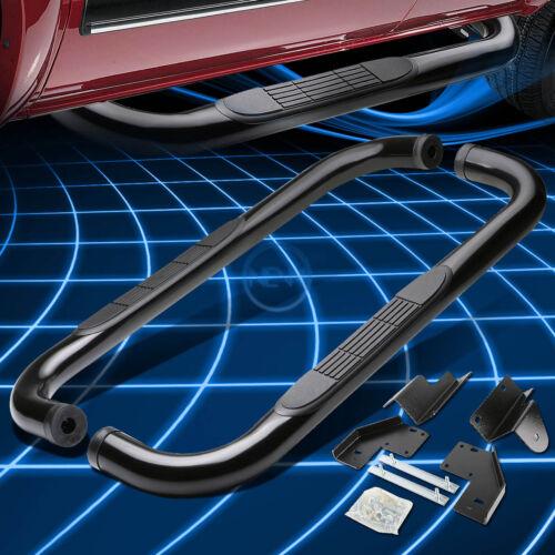 """Black Mild Steel 3/"""" Side Step Nerf Bar For 1999-2016 Ford Superduty Std//Reg Cab"""