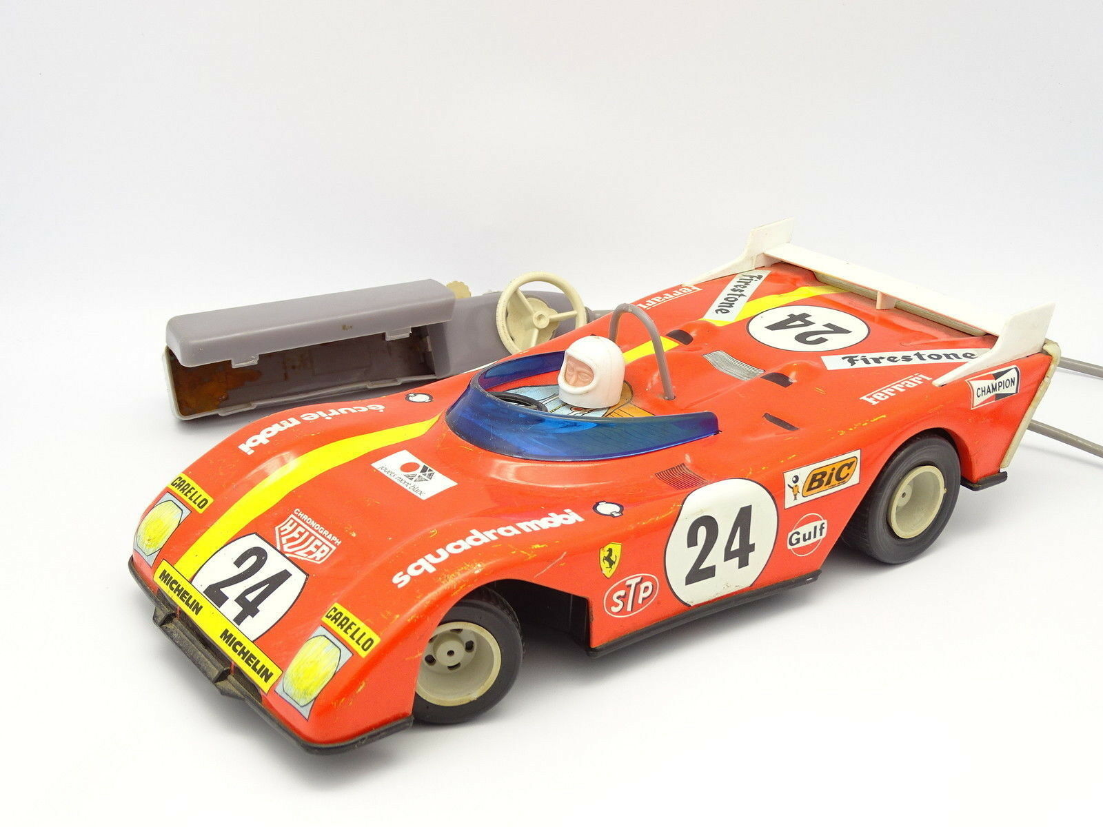 Toys Mount White - 30CM - Ferrari 512 Race