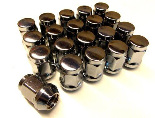 M12 X 1.5mm zincado tuercas de Rueda de Repuesto Extremo Cerrado X 20 a NS204BX-WNS20