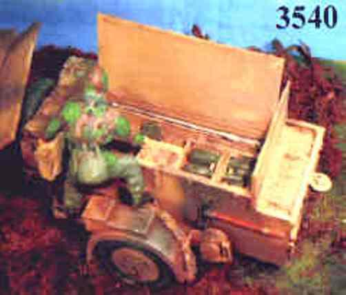 Elite-models (MMB) 3.7cm Ammunition-trailer - EL3540
