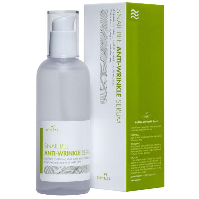 Neulii Snail Bee Anti-Wrinkle Serum 100ml Free Samples/ Korean cosmetic