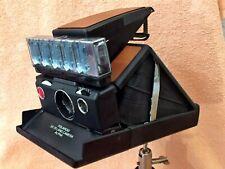 Sehr schöne Polaroid SX 70,ALPHA + Flashbar, GETESTET!