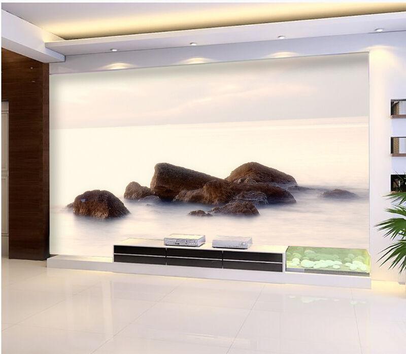 3D Pierre Nuage 573 Photo Papier Peint en Autocollant Murale Plafond Chambre Art