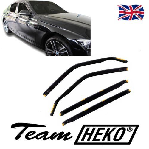 viento desviadores de BMW 3 Series F30 Saloon 2012-Up 4 piezas Heko Teñido Cortina de Sun