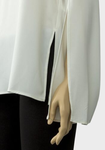 TOPSHOP MATERNITY IVORY SPLIT SLEEVED BLOUSE TUNIC TOP ALL SIZES NEW