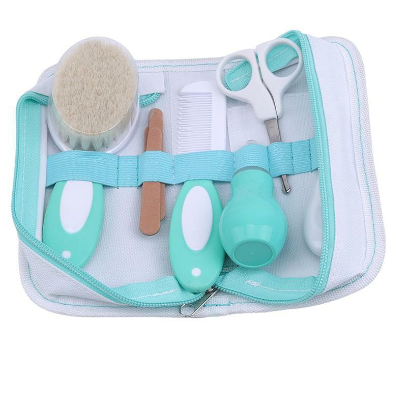 1 Set Newborn Baby Kids Nail Hair Health Care Thermometer Grooming Brush Kit Q