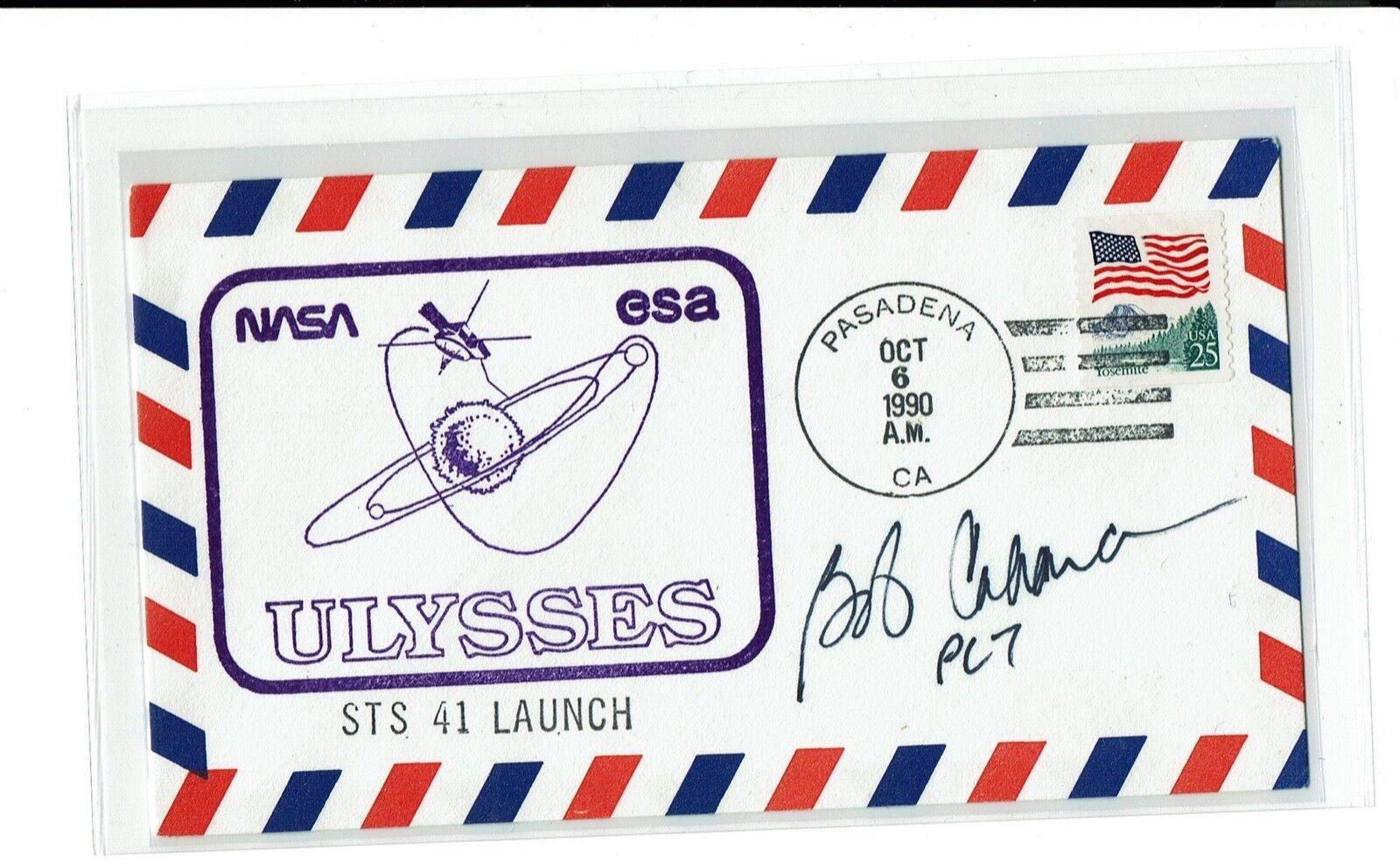 s l1600 - NASA Astronaut ROBERT D. CABANA Space Shuttle STS: 41, 53, 65, 88 !!