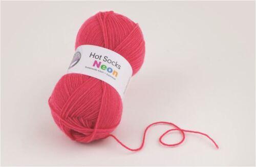 Hot Socks NEON 50 g restes de vente seulement 1,99 € au lieu de 2,99 €