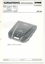 Grundig Service istruzioni manual CDP 100 b346