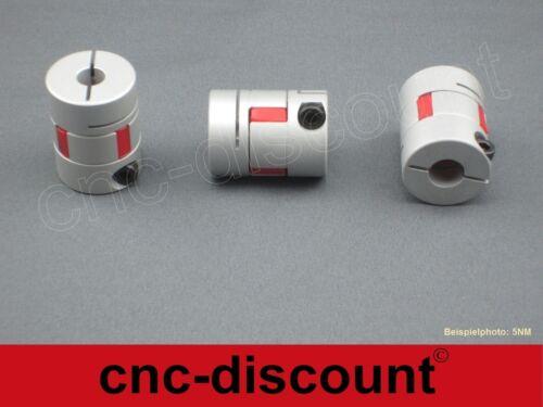 por ejemplo CNC fresado linear ola paso motores 3d 6//10mm olas embrague 5nm//