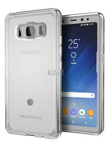 Clear-glossy-gel-TPU-Housse-etui-Silicone-Skin-pour-Samsung-Galaxy-S8-Active-G892