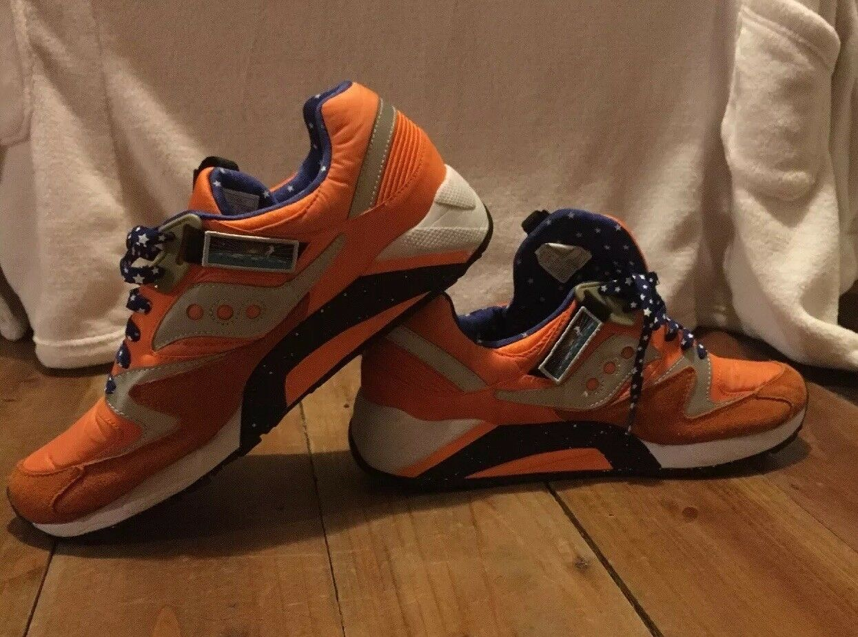 Saucony Extra Butter GRID 9000 ACES Elite Feig Moonwalker Size 11 Space Race