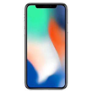Apple iPhone X (64GB & 256GB) Silver Factory Unlocked Phone 12MP LTE - NEW