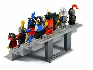 LEGO-Display-Stand-for-minifigures-Genuine-Lego-Parts-NO-MINIFIGURES-INCLUDED