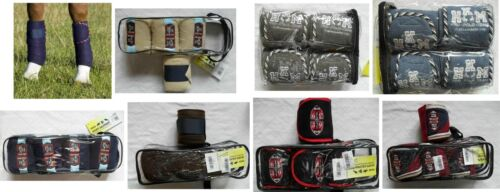Bandages polarfleecebandagen 4 pièces beaucoup de couleurs prix spécial NEUF
